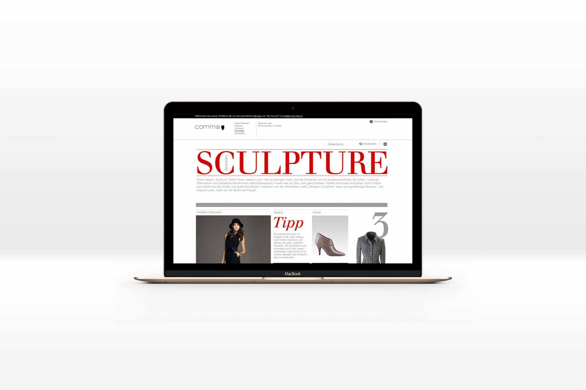 Modular fashion e-commerce